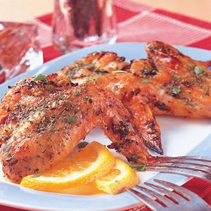 希臘烤雞翅