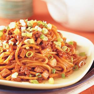 炸醬炒油麵