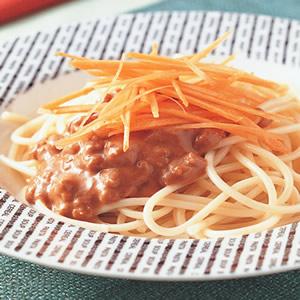麻醬芥末肉醬義大利麵