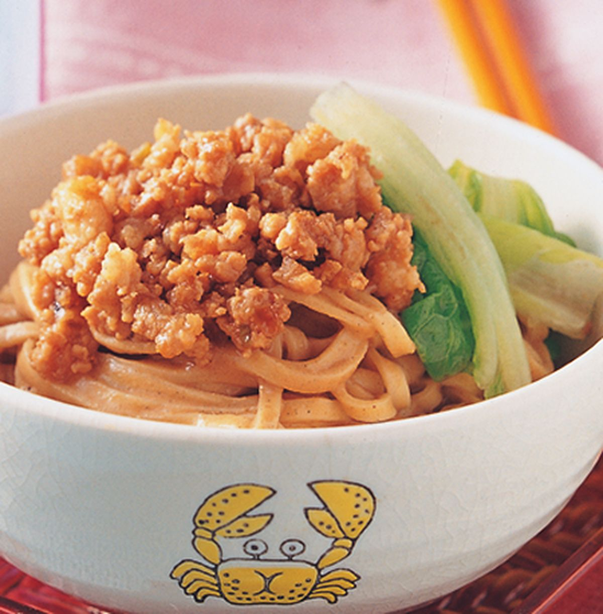 食譜:肉燥麻醬麵