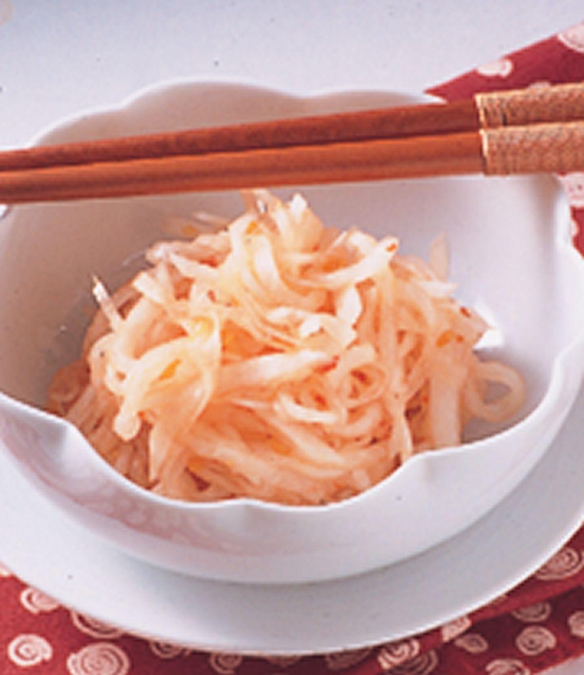 食譜:酸辣蘿蔔絲