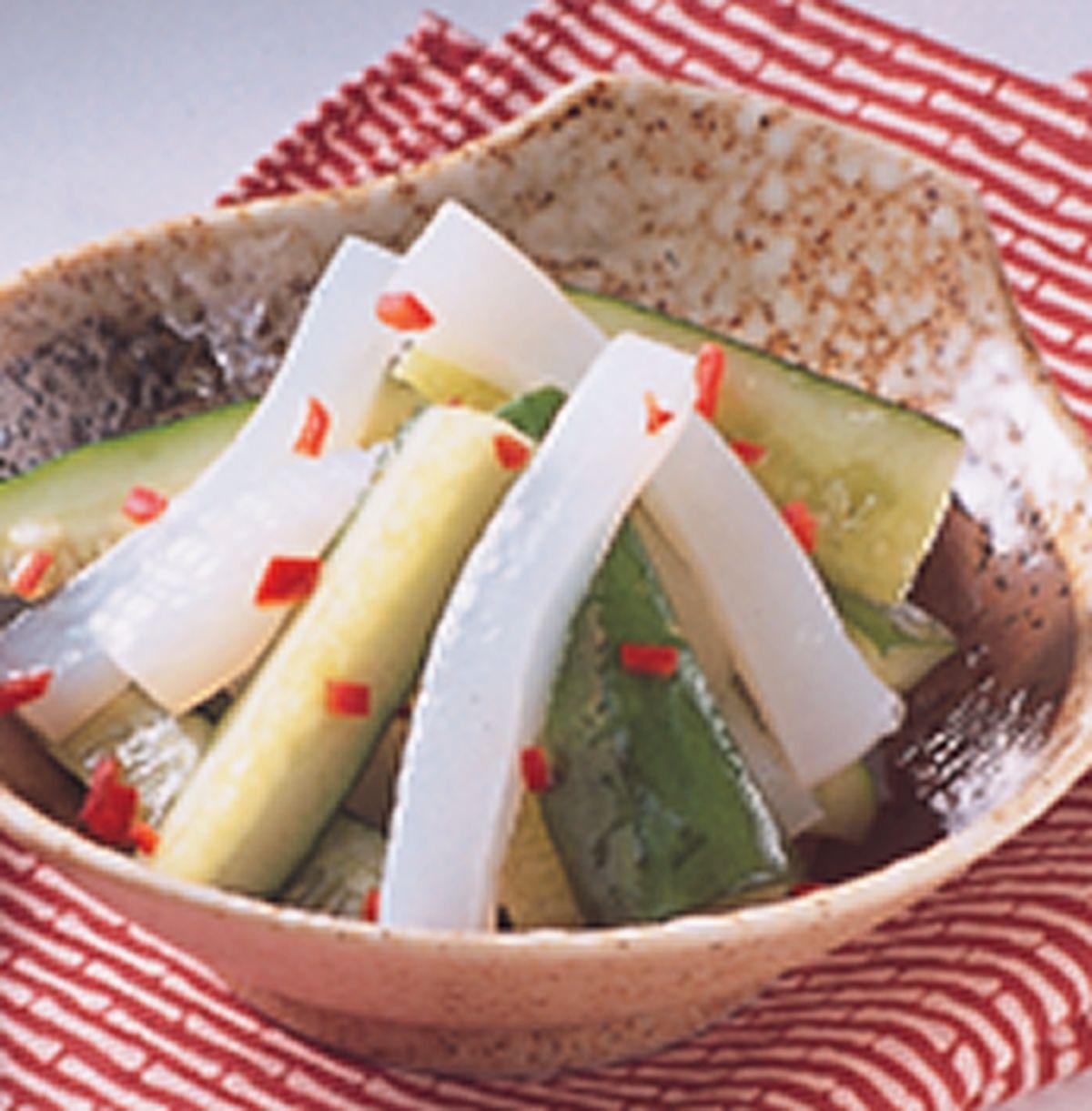 食譜:小黃瓜拌蒟蒻