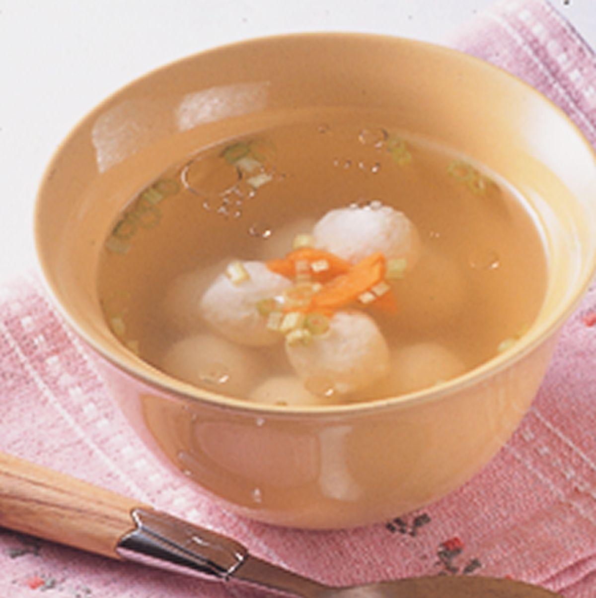 食譜:魚丸湯