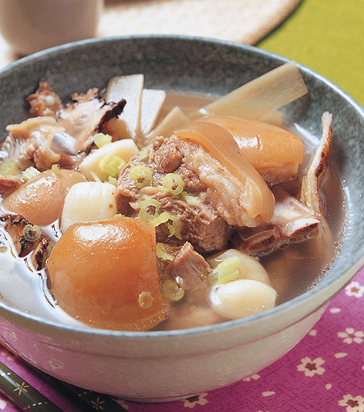 食譜:清燉羊肉爐
