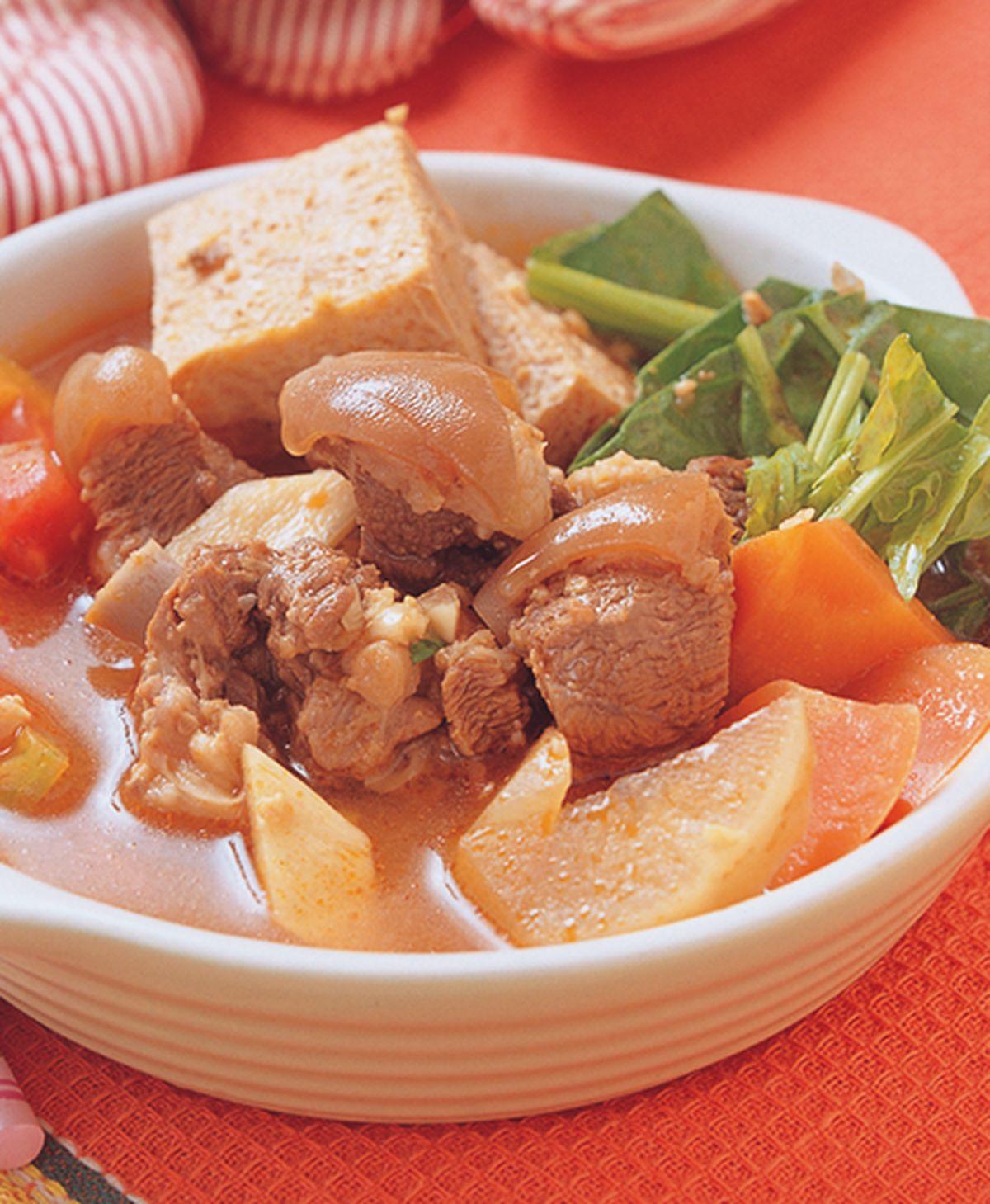 食譜:蕃茄羊肉爐