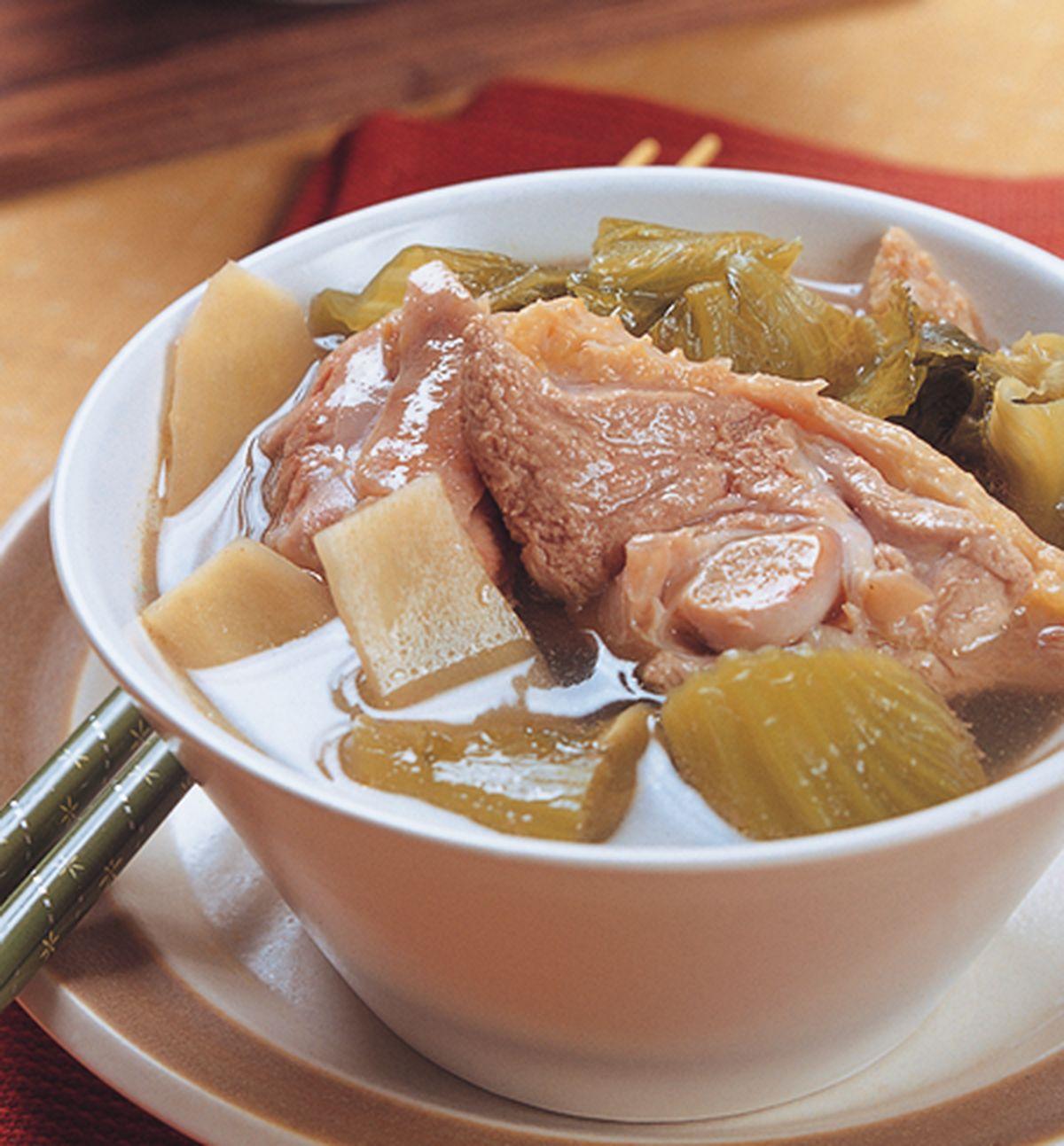 食譜:鹹菜鴨