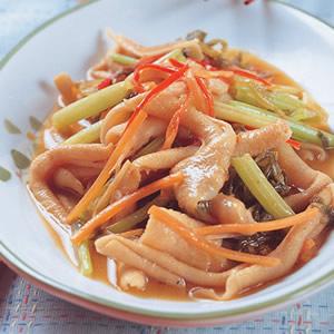 芹菜炒鴨腸