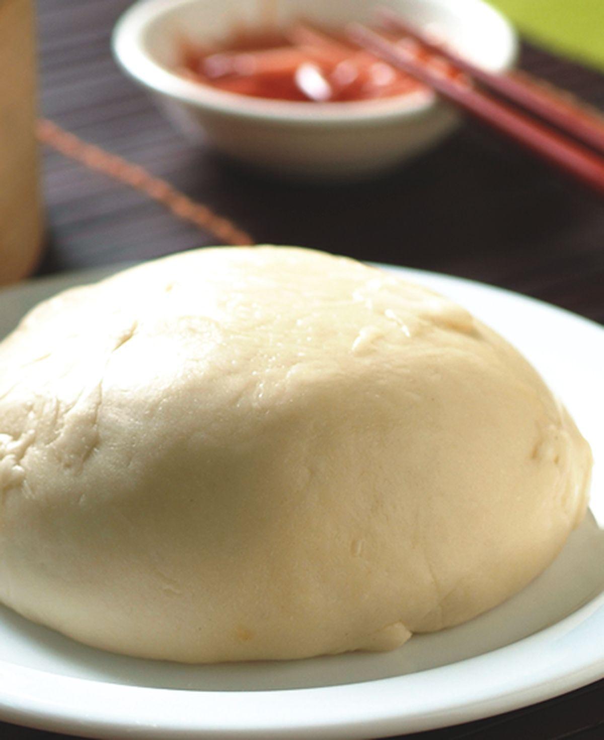 食譜:半發麵