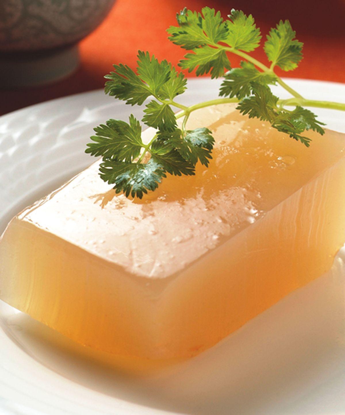 食譜:五行蔬菜素凍