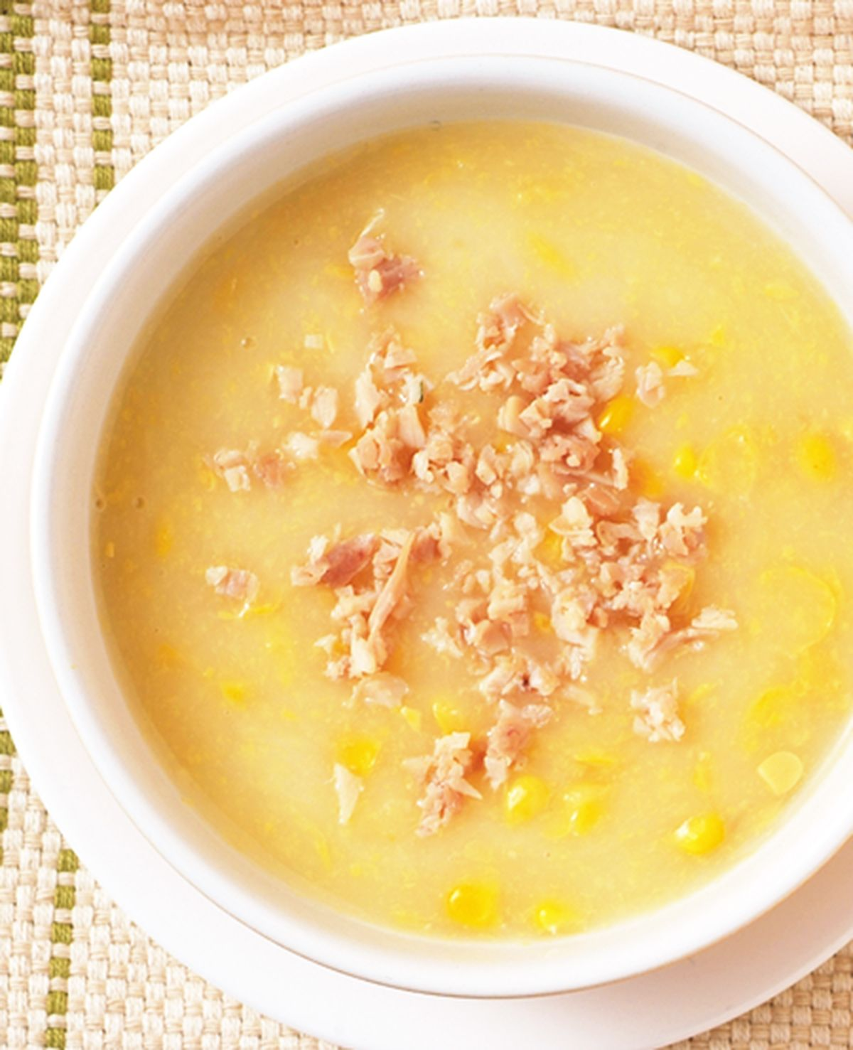 食譜:雞蓉玉米湯