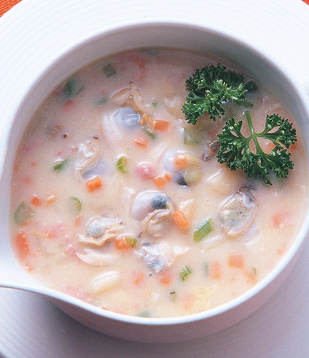 食譜:蛤蠣巧達湯