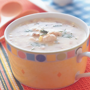 雞肉鮮奶湯