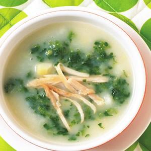 馬鈴薯菠菜湯