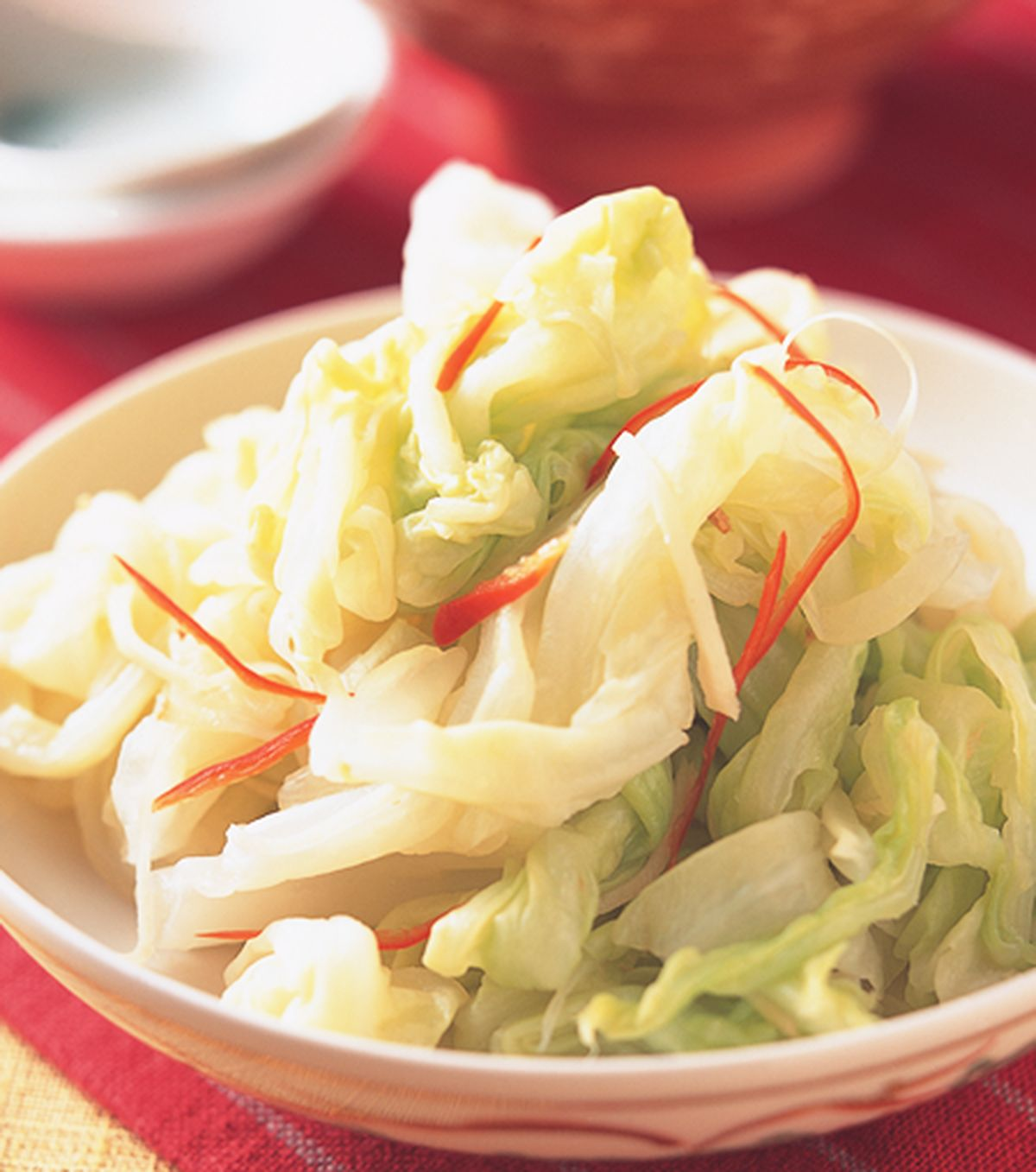 食譜:薑絲漬高麗菜