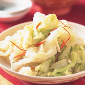 薑絲漬高麗菜