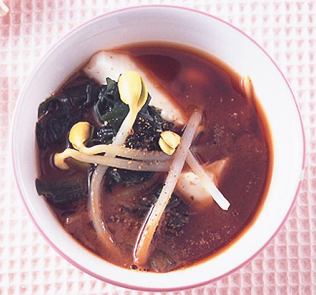 食譜:海帶芽味噌湯(1)