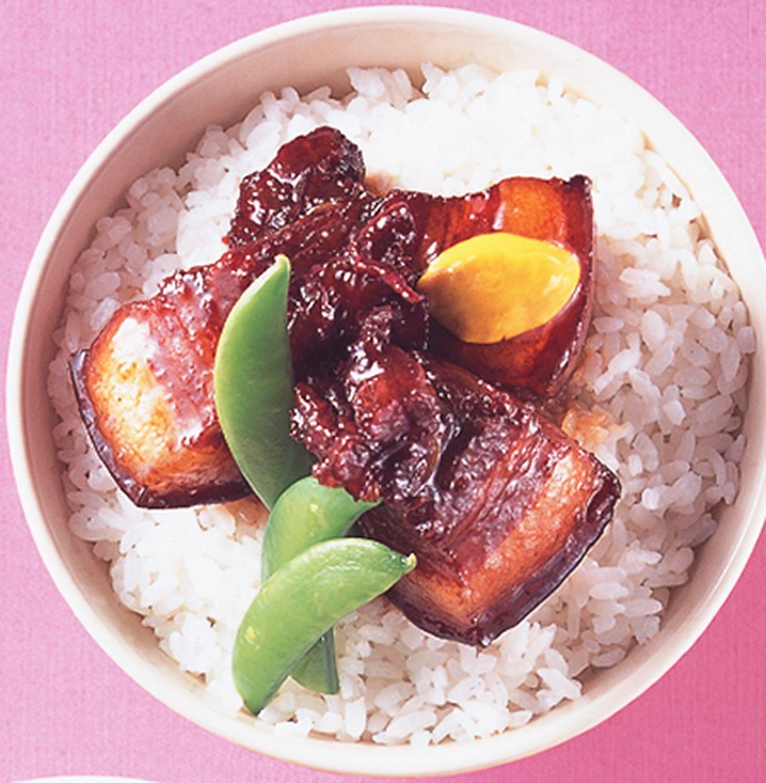 食譜:角煮丼