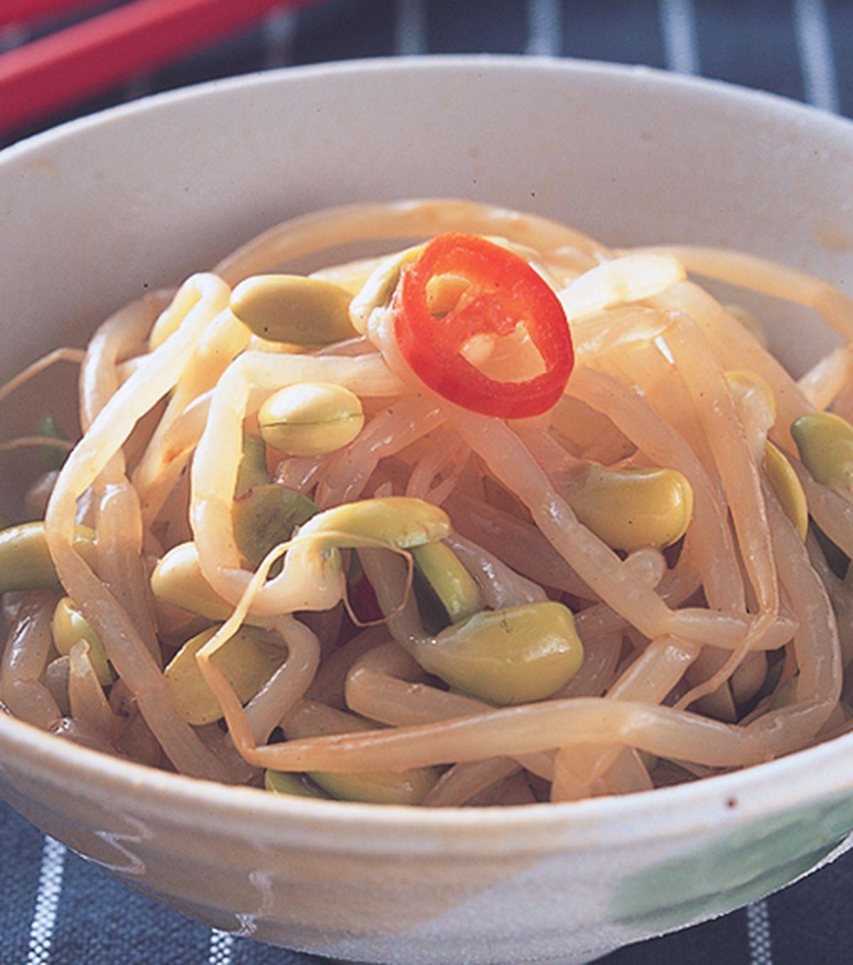 食譜:黃豆芽拌菜
