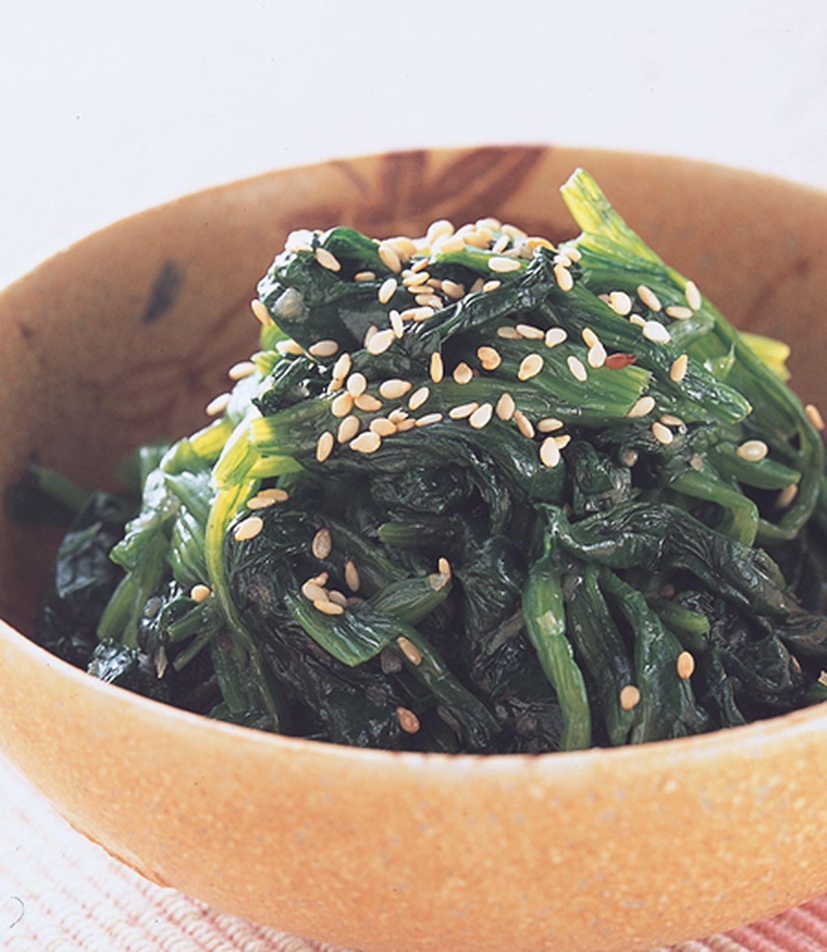 食譜:菠菜拌菜