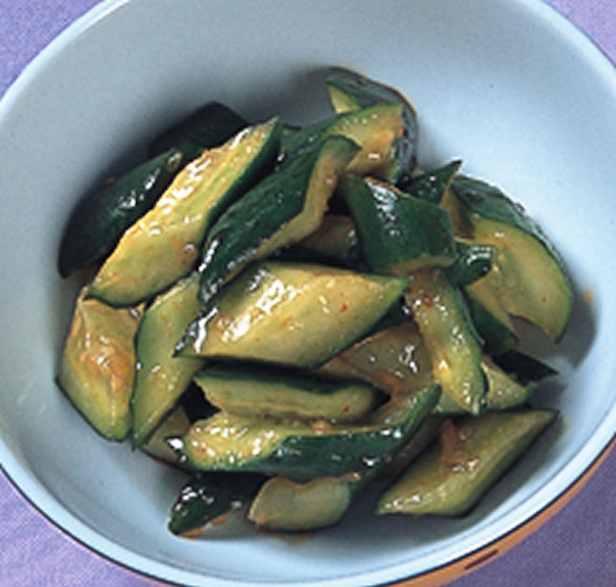食譜:辣醬小黃瓜