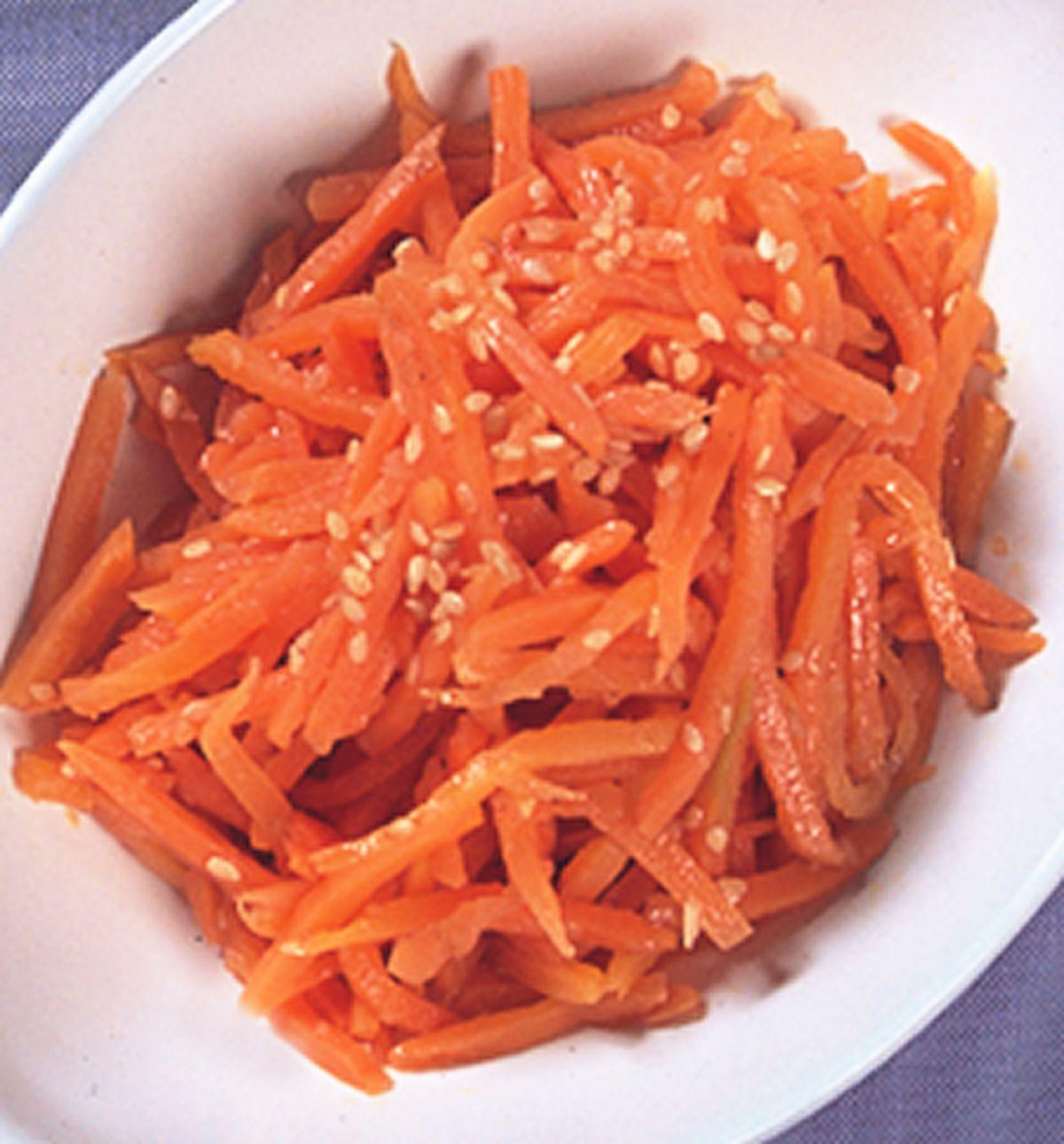 食譜:胡蘿蔔拌菜