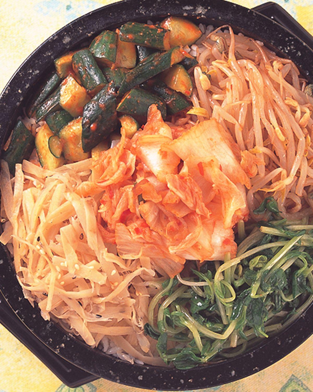 食譜:泡菜石鍋拌飯