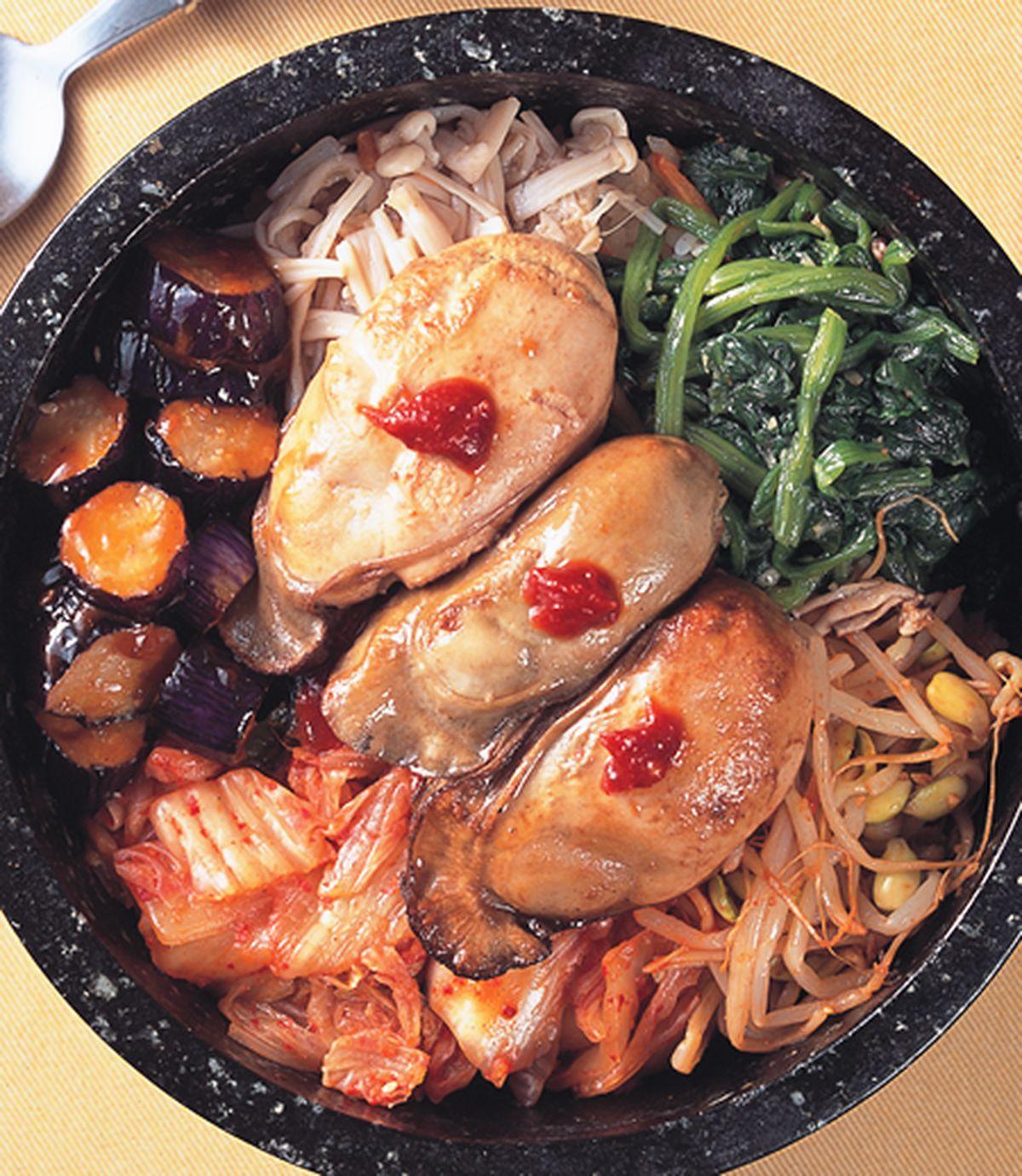 食譜:生蠔石鍋飯