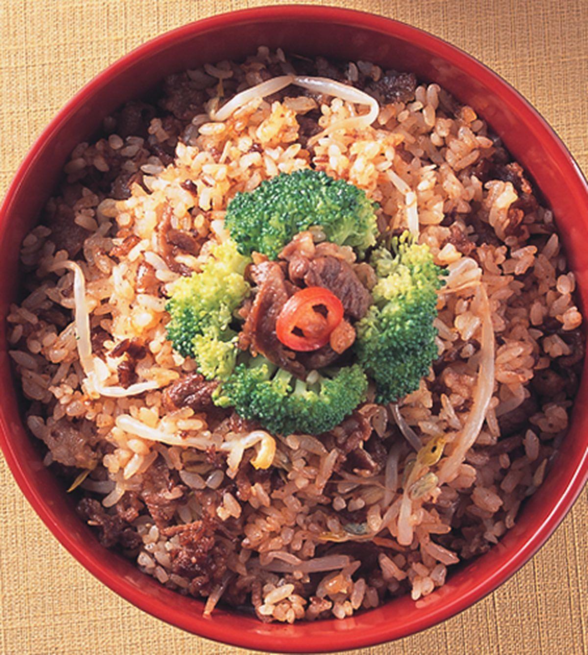食譜:碎牛肉拌飯