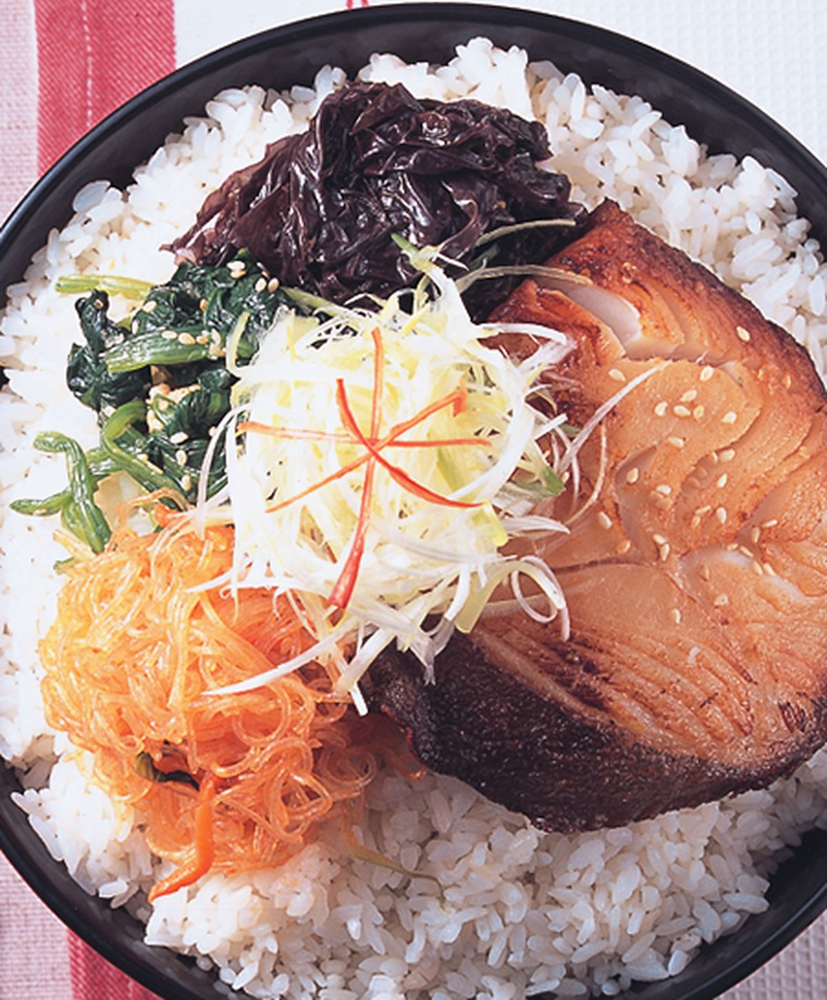食譜:鱈魚拌飯