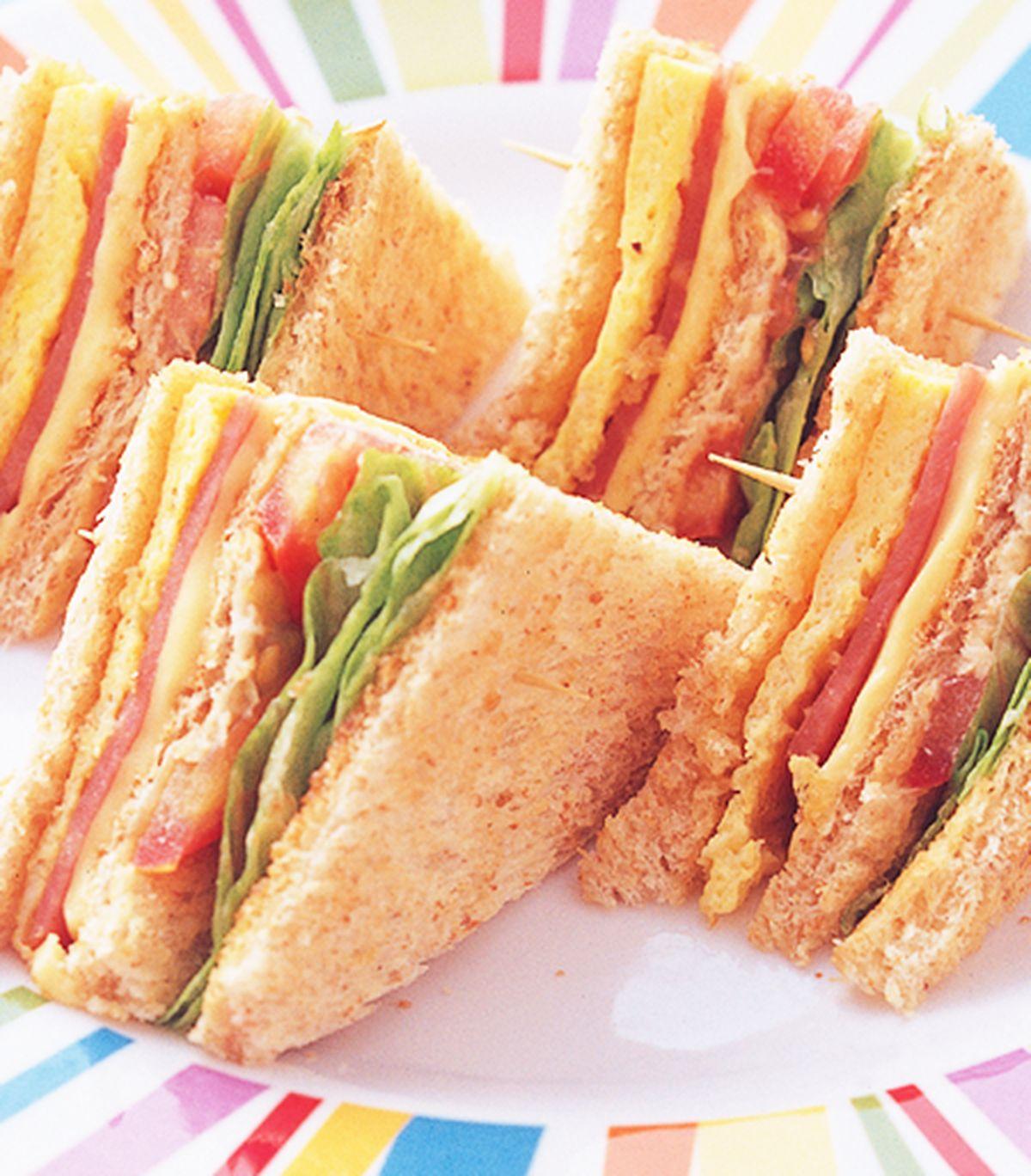食譜:總匯三明治(5)