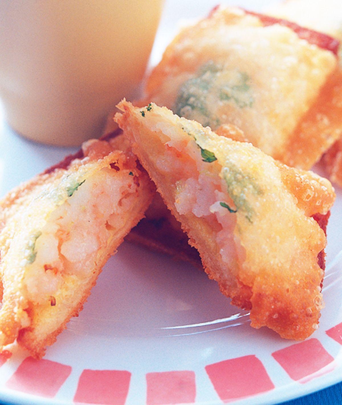 食譜:蝦多士