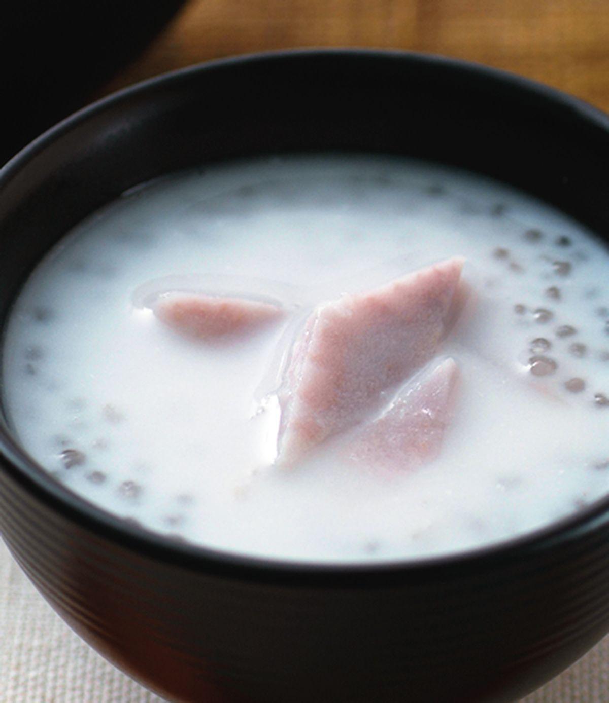 食譜:芋頭椰汁西米露