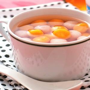 蕃薯芋圓湯