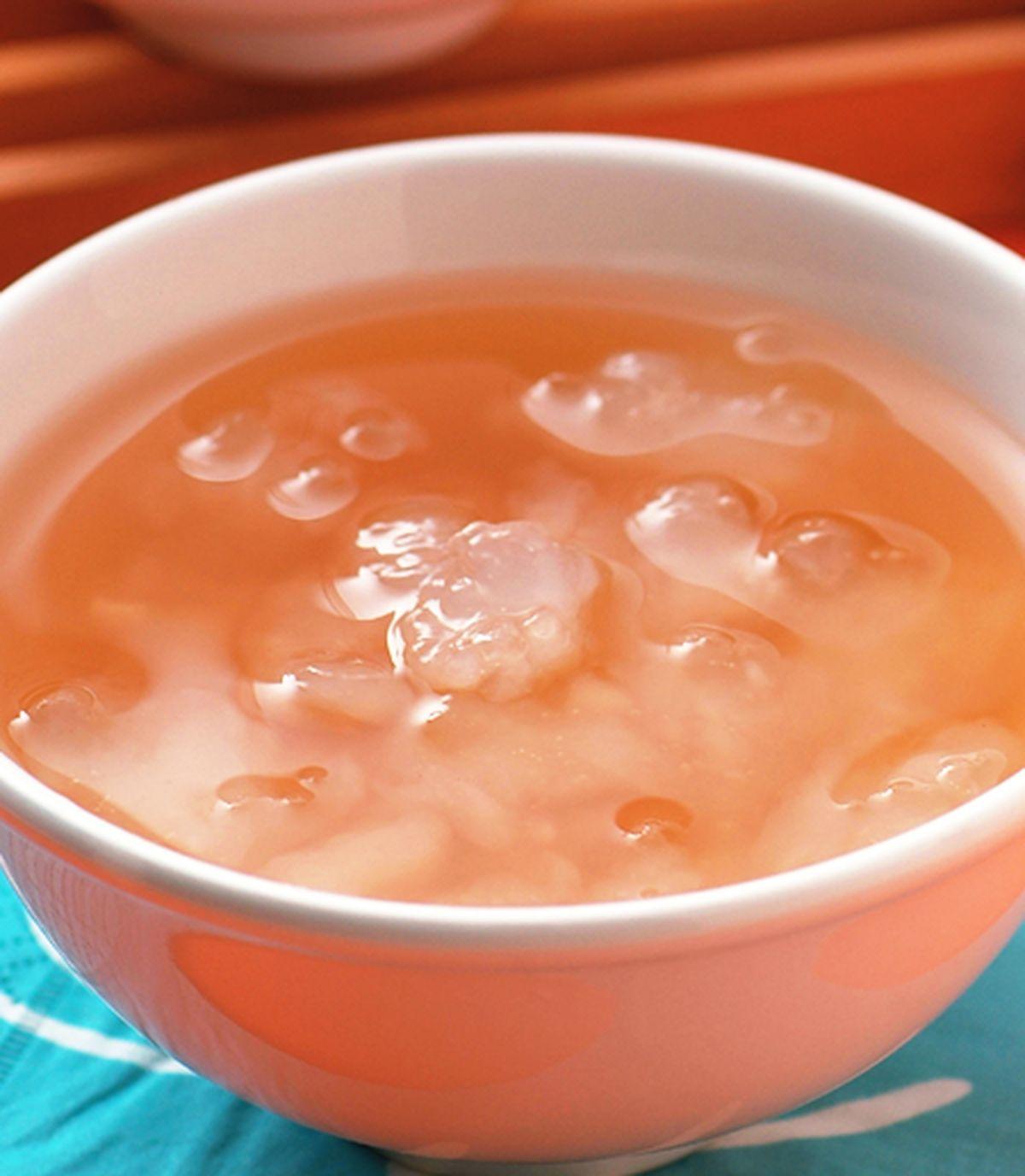 食譜:地瓜涼湯