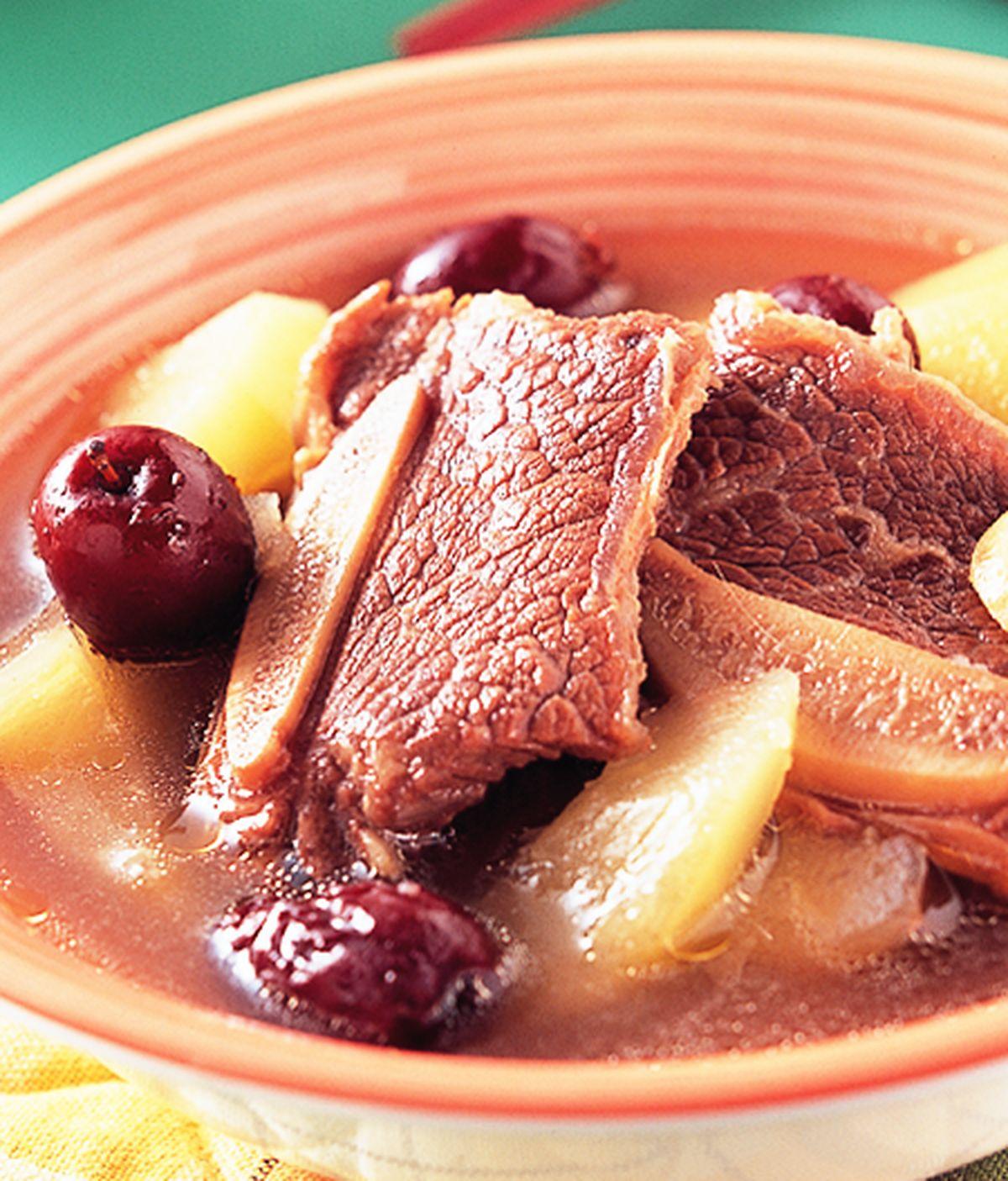食譜:青木瓜清燉牛肉