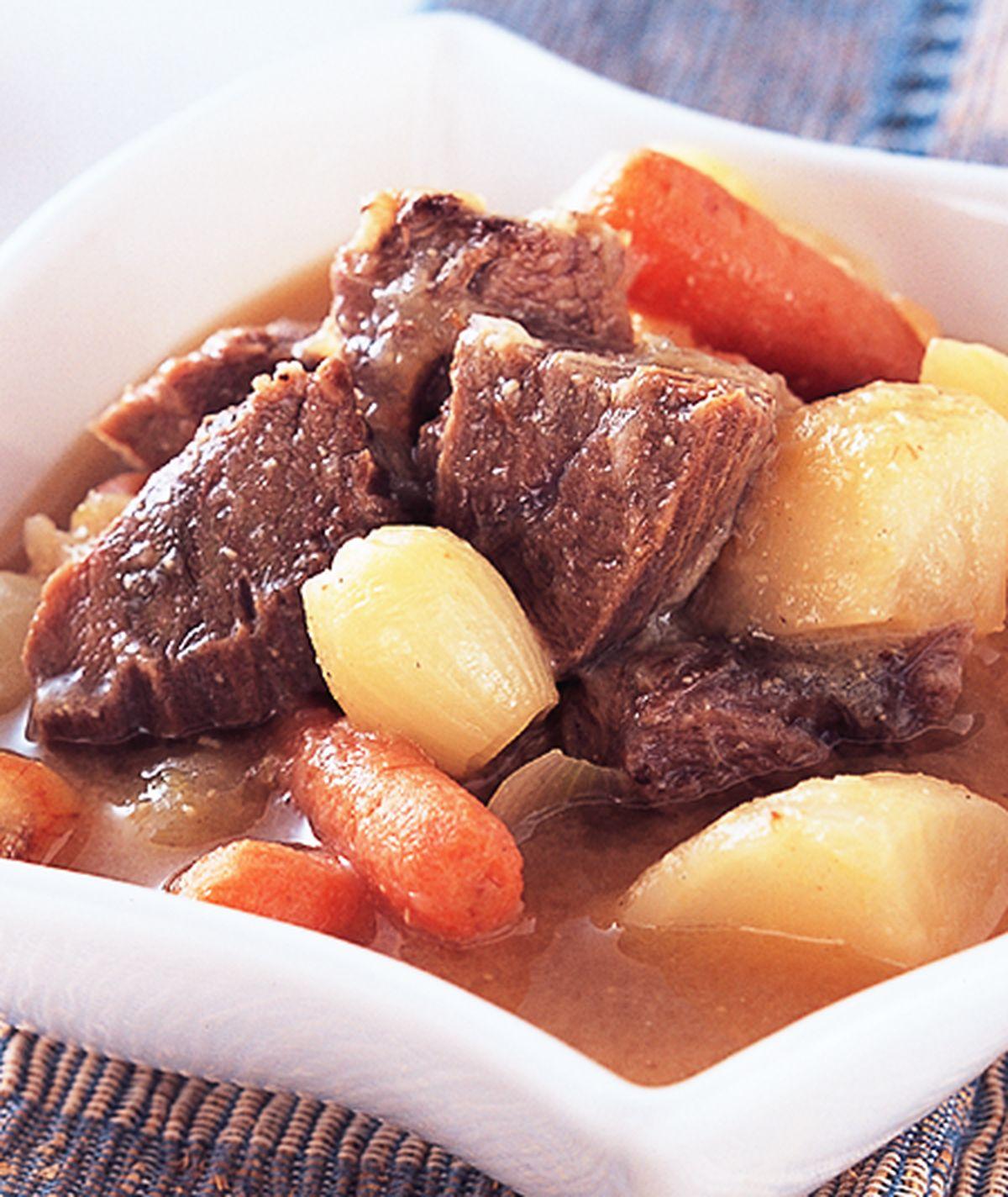 食譜:和風味噌燉牛肉
