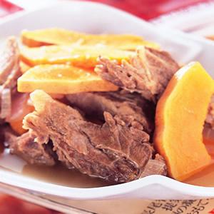 南瓜燉牛肉