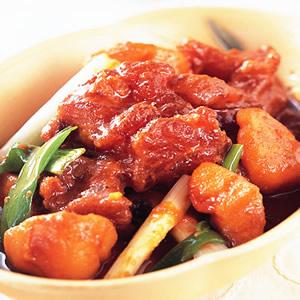 韓式辣燉牛筋