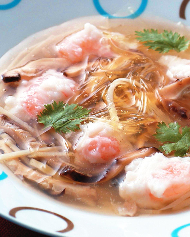 食譜:魚翅蝦仁羹