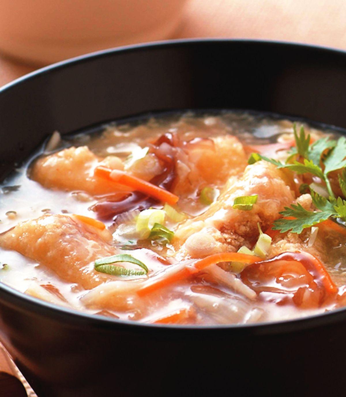 食譜:酸辣土魠魚羹
