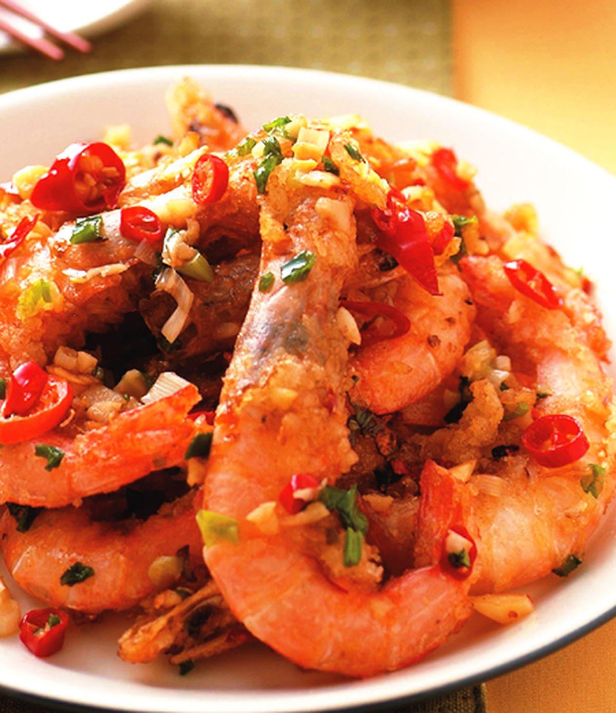 食譜:XO醬焗草蝦