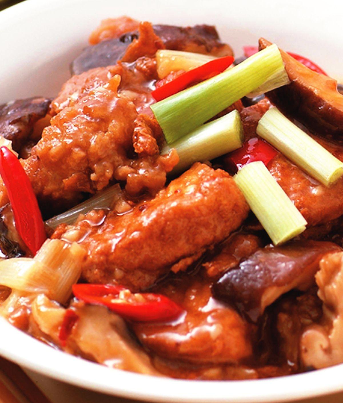 食譜:XO醬燒豆腐
