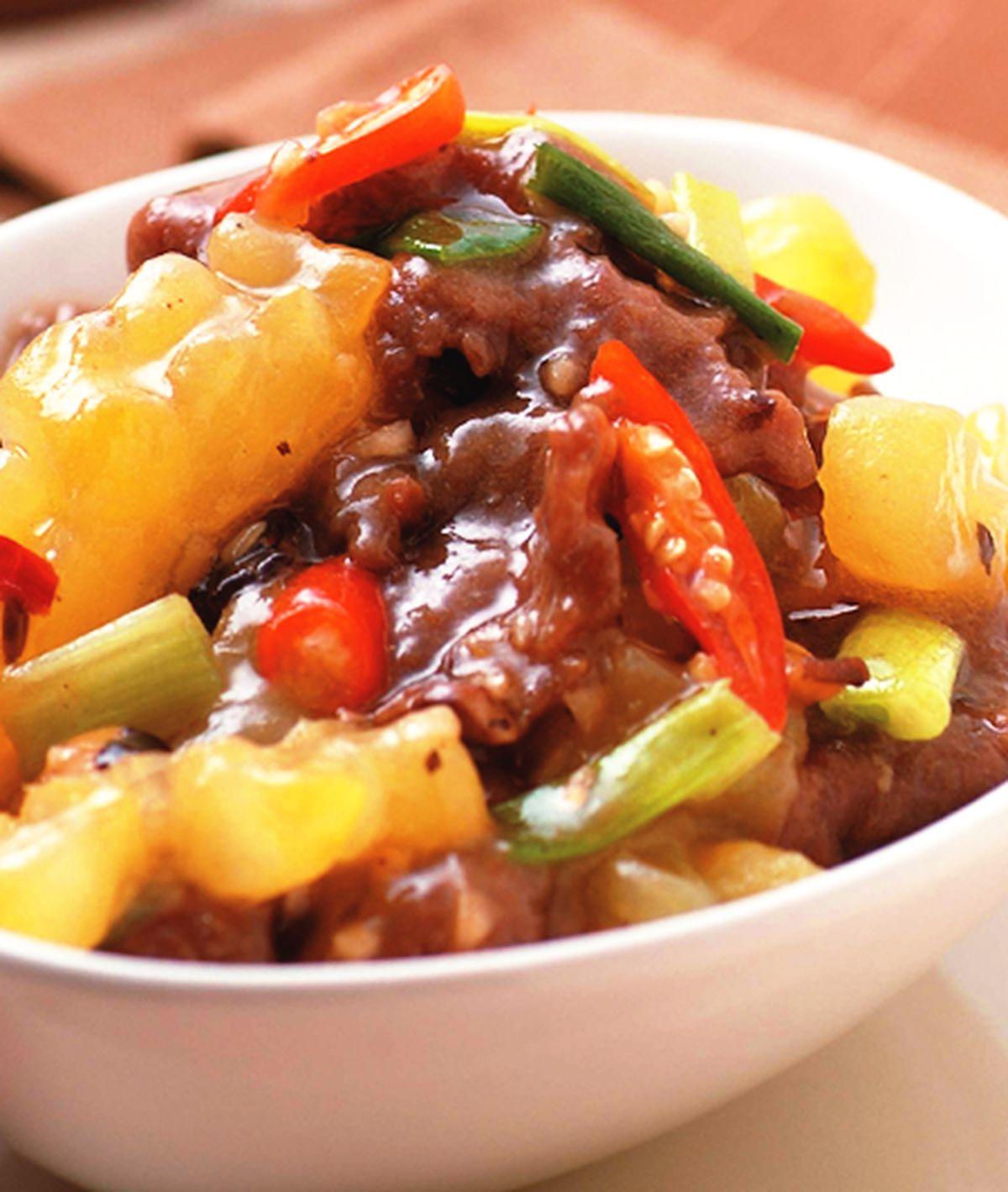 食譜:XO醬苦瓜燜牛肉