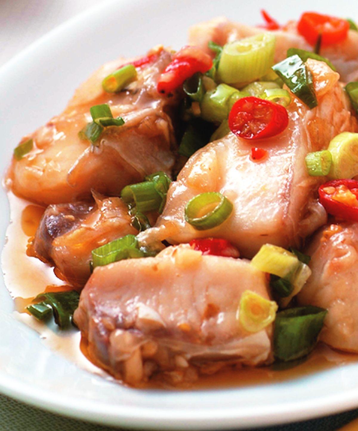 食譜:XO醬蒸魚腩