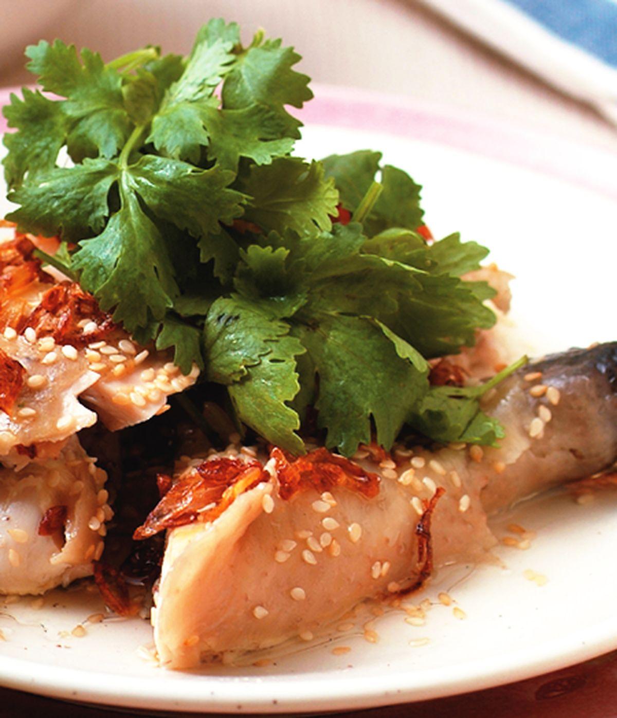 食譜:芝麻香蔥雞