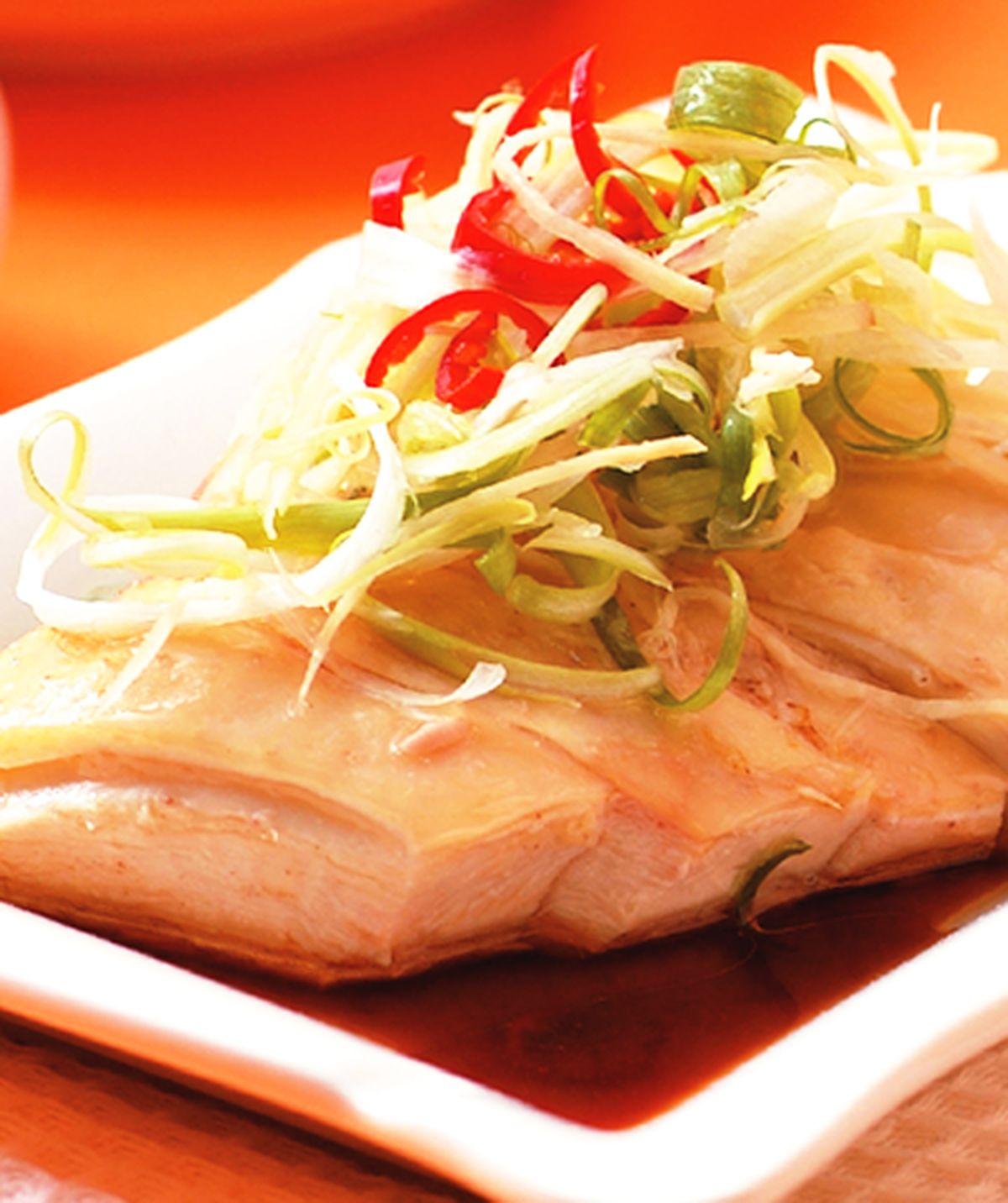 食譜:蔥油雞(4)