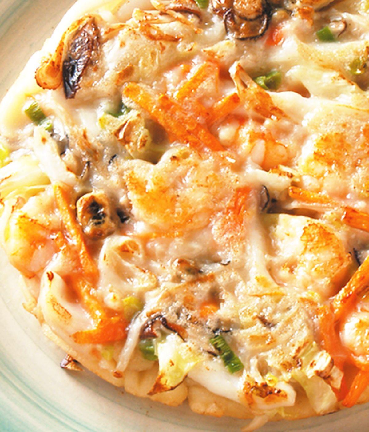 食譜:綜合海鮮煎餅