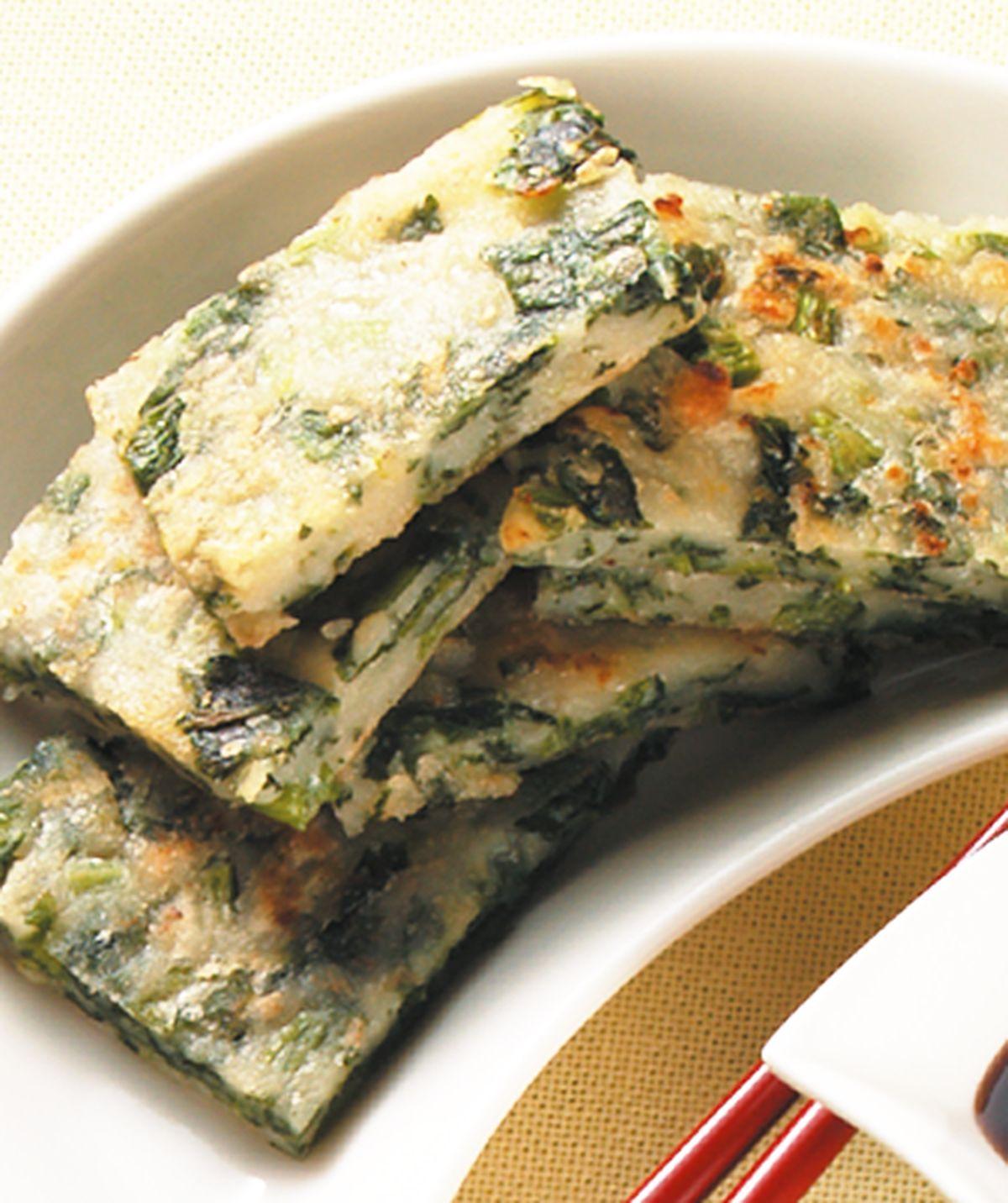 食譜:菠菜煎餅