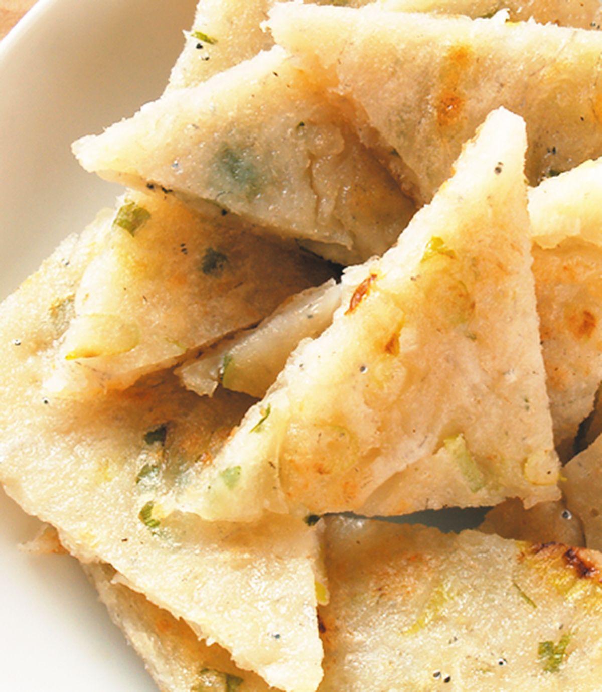 食譜:吻仔魚煎餅