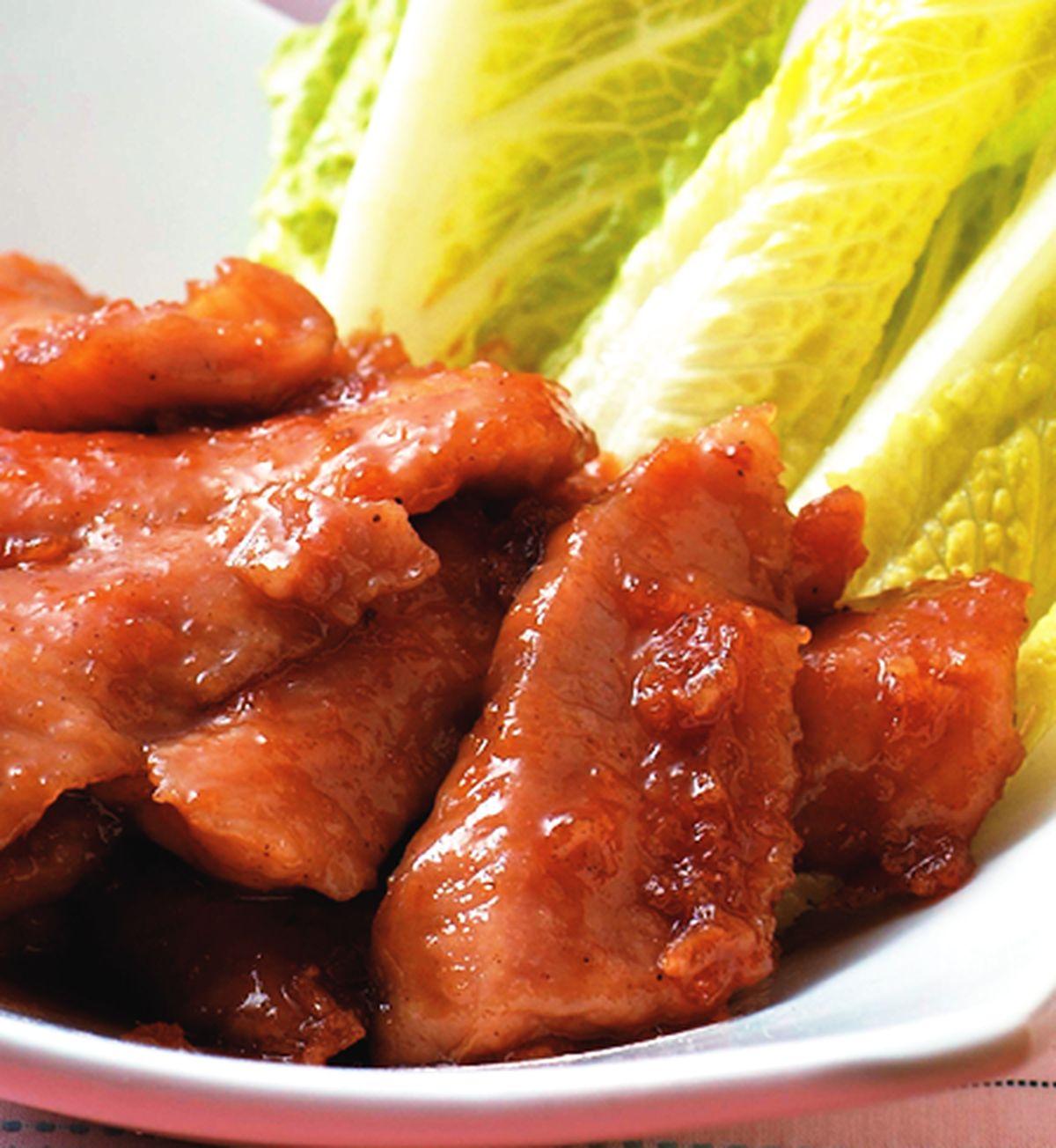 食譜:壽喜醬炒霜降肉片